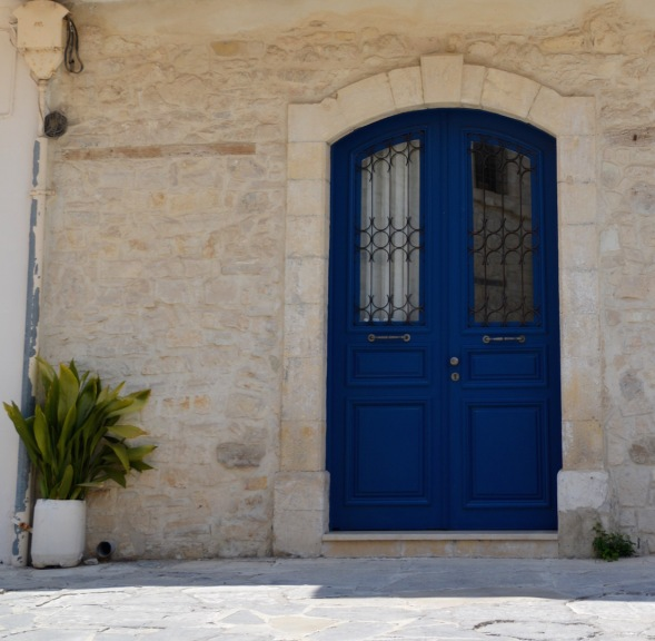 The Blue door....