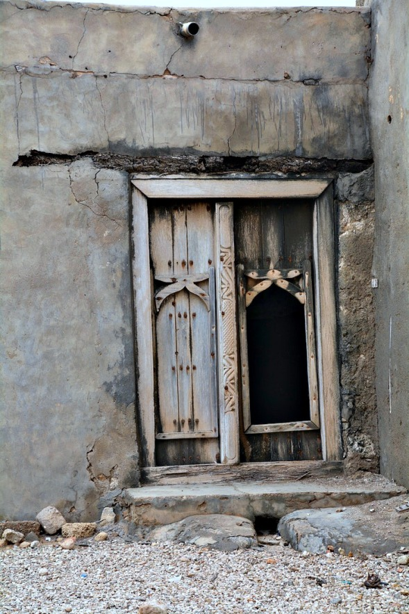 I love these inner doors, its very traditional in the Middle East and Oman...