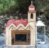 A candle-shrine....