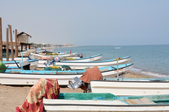 Fishing boats at As Seeb...