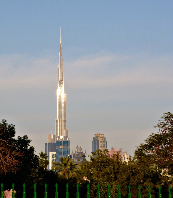 Safa Park view of Burj Khalifa...