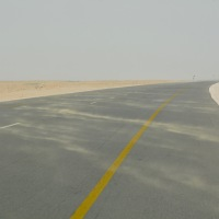 On the road to Oman again...