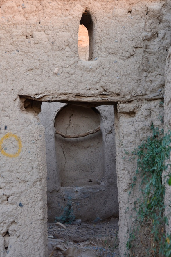 and another ancient alcove and window remain in this fascinating town....