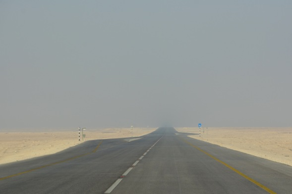 The lunar road....
