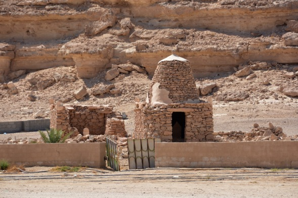 And at the last village before human habitation becomes impossible, an old tomb...