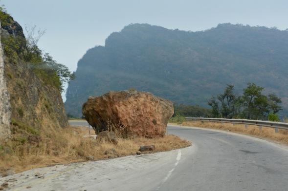 A rocky road...