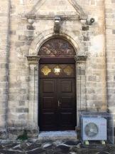 Door to a church....