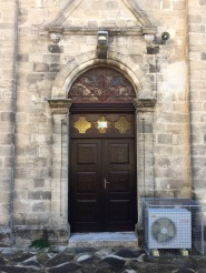 Door to a church....