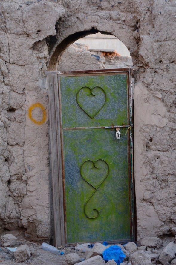 Who can't love a heart door? ...