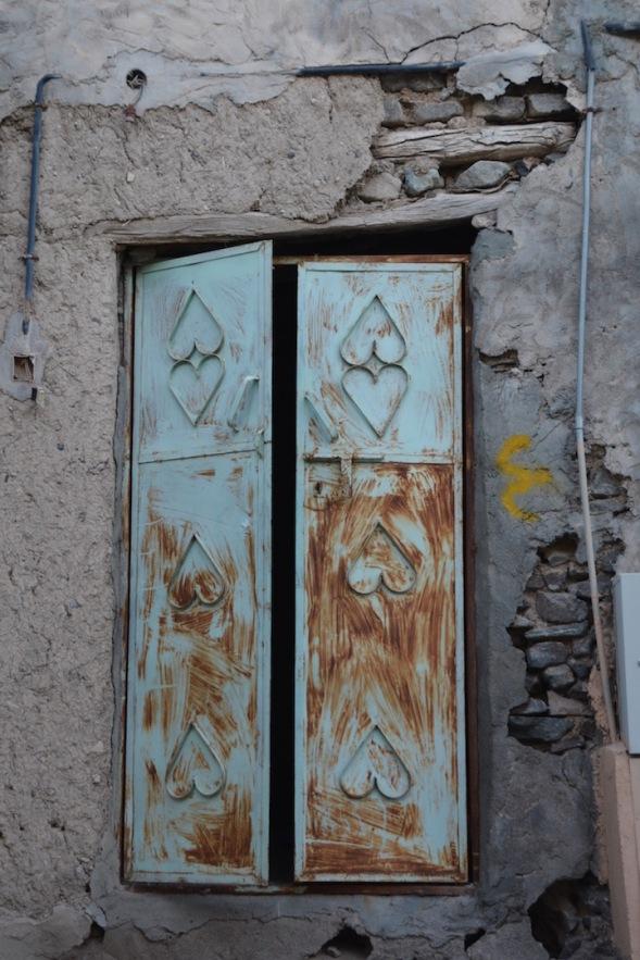 And another heart door...