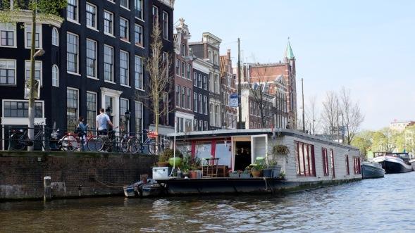 Houseboat life...