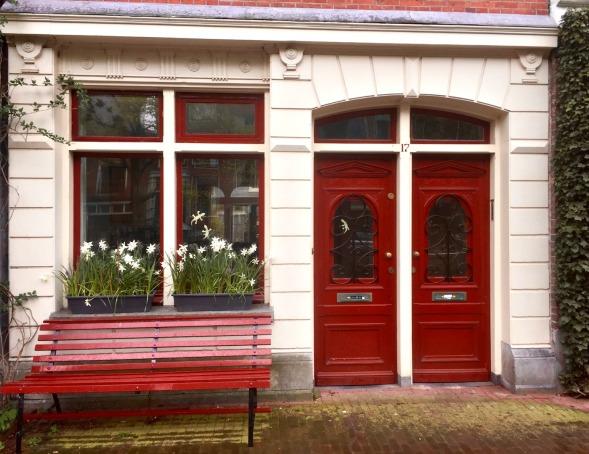 Ahh, Red doors! Finally...