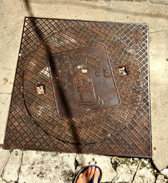 Even the drain covers were worthy of a shot...
