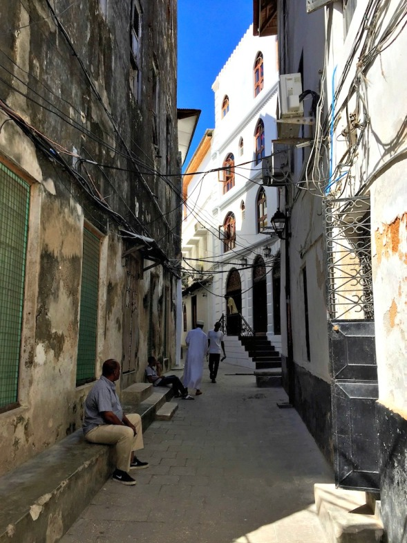 Narrow streets of Stonetown...