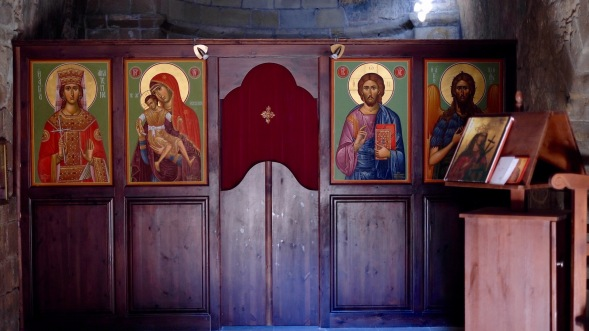 The door, in the Church, part of the Iconostasis...