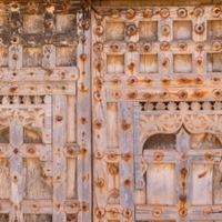 Thursday Doors, 12/10/17. Trying for the perfect door shot, Mirbat, Oman....