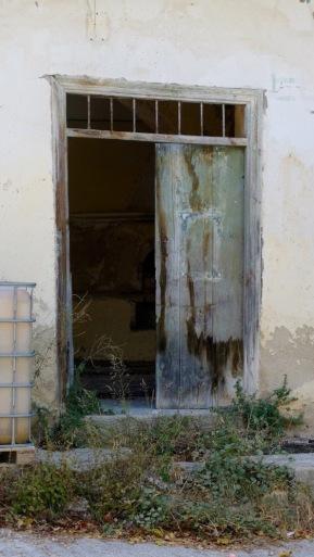 Half a door...