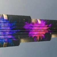 Burj Khalifa, Dubai... a little light show...